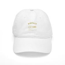 Vintage 65th Birthday Baseball Cap