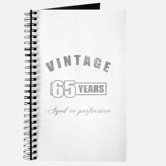 Vintage 65th Birthday Journal