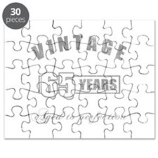 Vintage 65th Birthday Puzzle