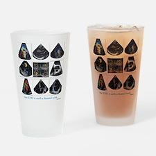 One echo Drinking Glass