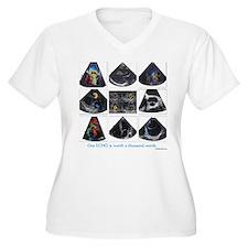 One echo Plus Size T-Shirt