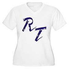 RT, purple Plus Size T-Shirt
