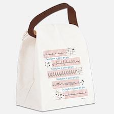 Rhythm is gonna get you Canvas Lunch Bag