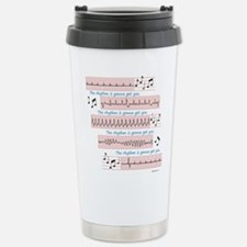 Rhythm is gonna get you Travel Mug