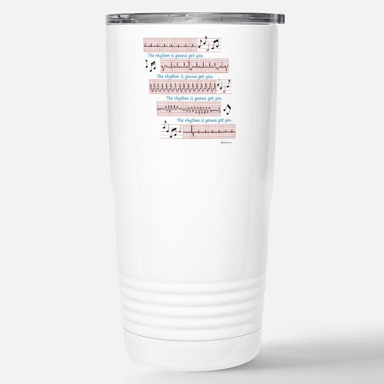 Rhythm is gonna get you Travel Mug