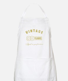 Vintage 80th Birthday Apron
