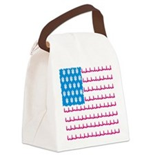 EMS flag Canvas Lunch Bag