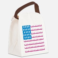 EMS flag Canvas Lunch Bag