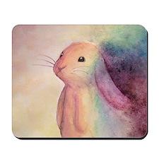Rainbow Rabbit Mousepad