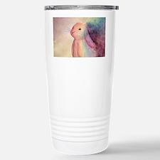 Rainbow Rabbit Stainless Steel Travel Mug