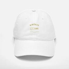 Vintage 90th Birthday Baseball Baseball Cap