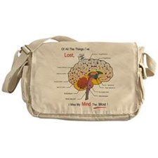 I miss my mind Messenger Bag