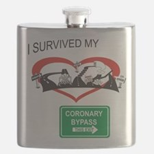 I survived my coronary bypass Flask