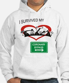 I survived my coronary bypass Hoodie