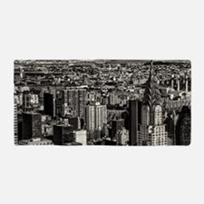 New York City Skyline Photo Beach Towel