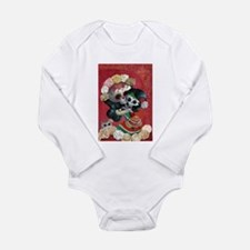 Mexican Skeletons - Mother with Daughter Body Suit