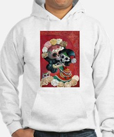 Mexican Skeletons - Mother with Daughter Hoodie