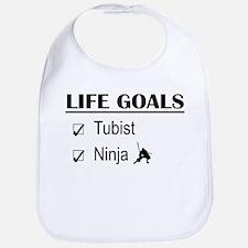 Tubist Ninja Life Goals Bib