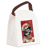 El dia de los muertos Canvas Lunch Bag