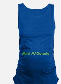 Mini-Mcdonald Maternity Tank Top
