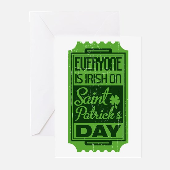 Everyone's Irish Greeting Cards (20 pack)