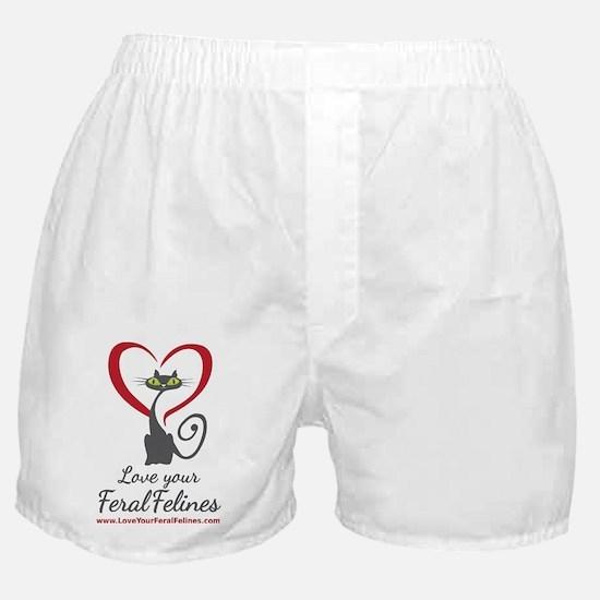 Love Your Feral Felines Boxer Shorts