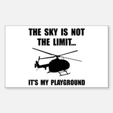 Sky Playground Helicopter Decal