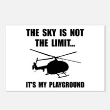 Sky Playground Helicopter Postcards (Package of 8)