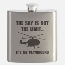 Sky Playground Helicopter Flask