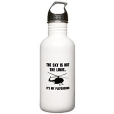 Sky Playground Helicopter Water Bottle