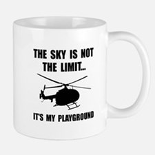 Sky Playground Helicopter Mugs