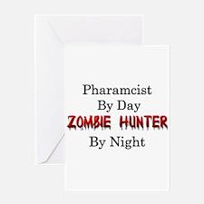 Pharmacist/Zombie Hunter Greeting Card