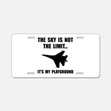 Sky Playground Military Plane Aluminum License Pla