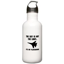 Sky Playground Military Plane Water Bottle