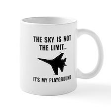 Sky Playground Military Plane Mugs