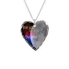 I love you to the moon and ba Necklace