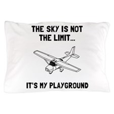 Sky Playground Plane Pillow Case