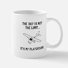 Sky Playground Plane Mugs