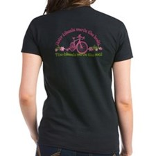 2-Sided Bike Love Women'S Dark T-Shirt