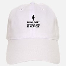 Successful Woman Baseball Baseball Baseball Cap