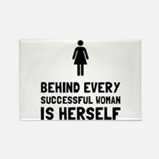 Successful Woman Magnets