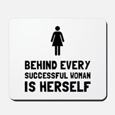 Successful Woman Mousepad