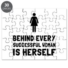 Successful Woman Puzzle