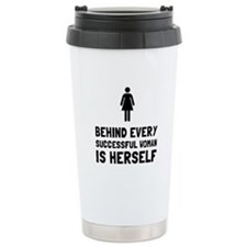 Successful Woman Travel Mug