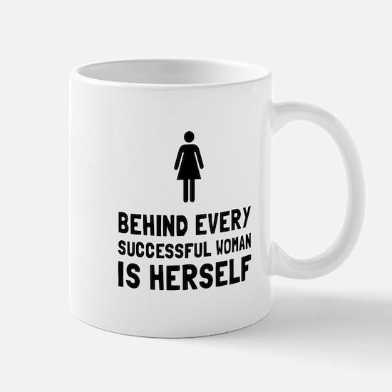 Successful Woman Mugs