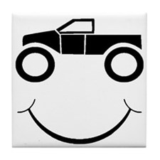 Truck Smile Tile Coaster