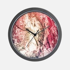 Abstract Branches Wall Clock