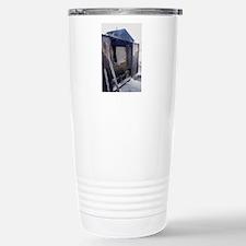 Wooden furnace Travel Mug