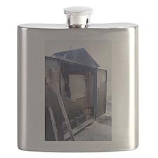 Wooden furnace Flask