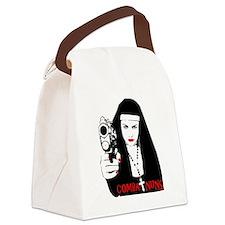 Combat  Nuns Canvas Lunch Bag